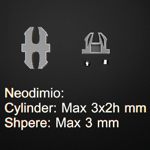 Télécharger fichier OBJ gratuit Verrouillage magnétique 2.0 • Plan pour impression 3D, 3DRune