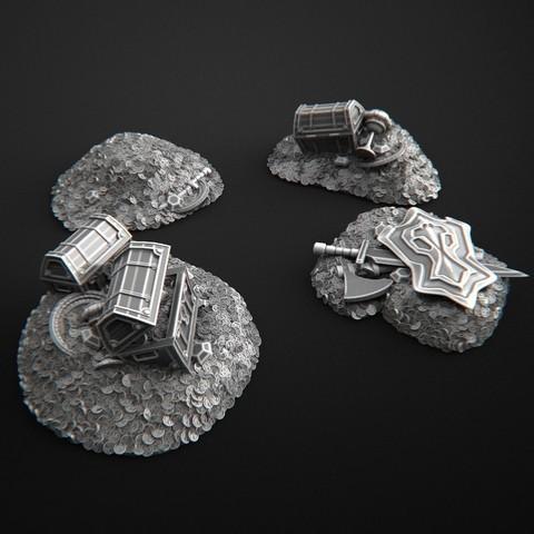 Download 3D printing models Coin Treasure, 3DForge