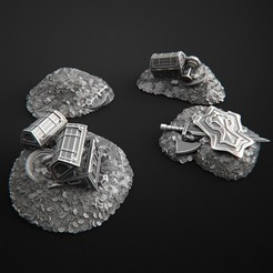 Descargar modelo 3D Coin Treasure, 3DRune