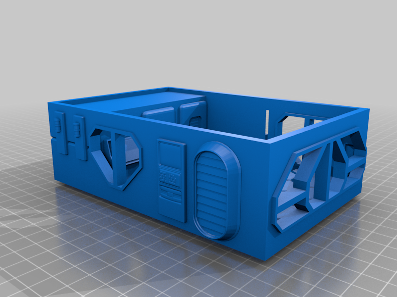2020_03_01A.png Download free OBJ file infinity rack terrain • 3D printing template, 3DRune