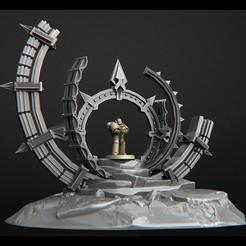 Télécharger fichier OBJ marteau de guerre futuriste de terrain 40k • Plan imprimable en 3D, 3DRune