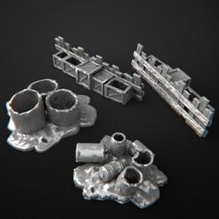 2019-09-M.jpg Télécharger fichier STL Barricades • Modèle pour impression 3D, 3DRune