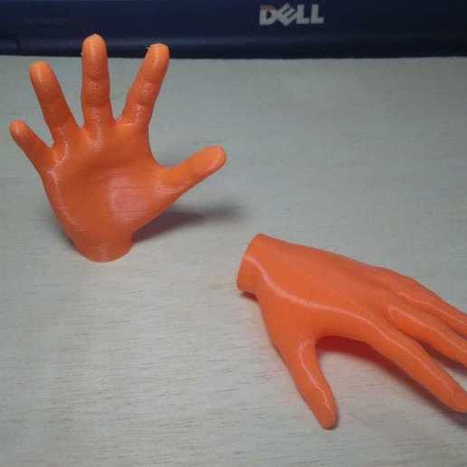 Download free 3D print files Small hands and legs for fingers, MAyobe