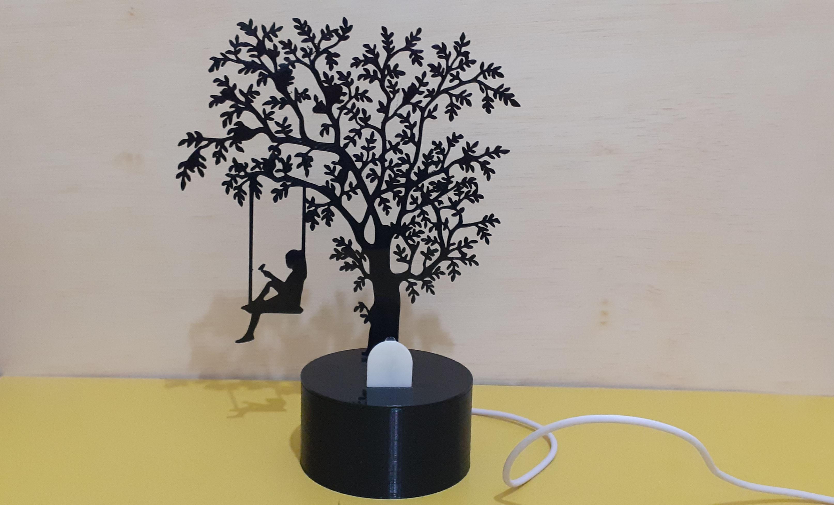 20200206_184617.jpg Download STL file Shadow Lamp • 3D print model, MAyobe