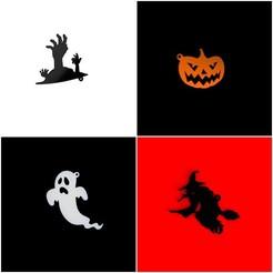pjimage2.jpg Télécharger fichier STL Porte-clés Halloween (Première collection) • Modèle pour impression 3D, MAyobe