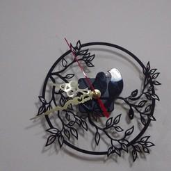 Télécharger fichier 3D Horloge murale pour oiseaux, MAyobe