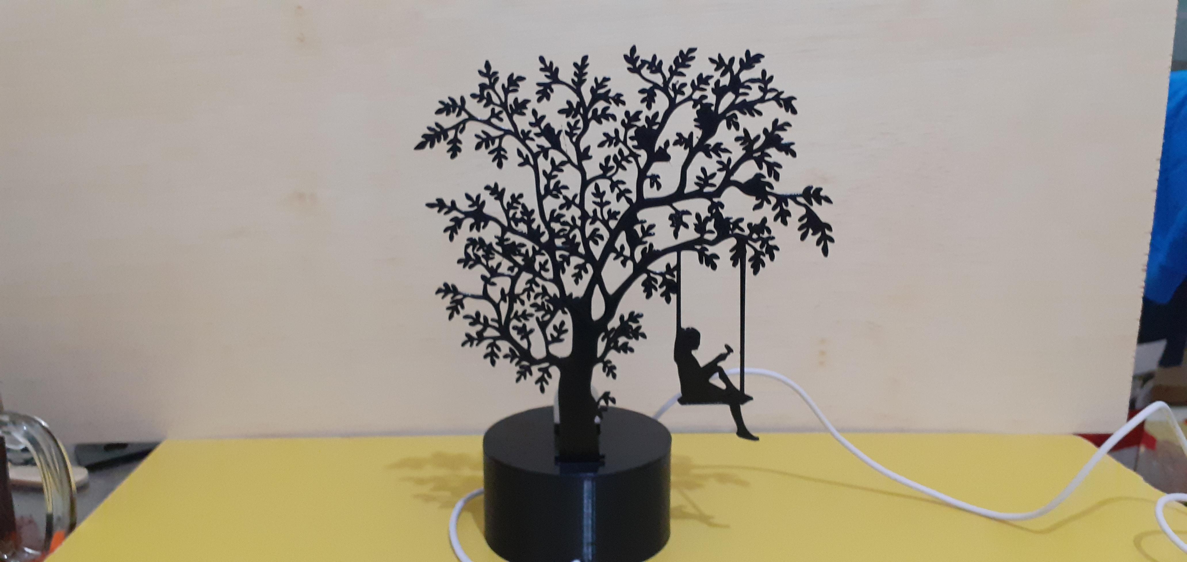 20200206_184635.jpg Download STL file Shadow Lamp • 3D print model, MAyobe