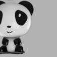 Download 3D printing files Panda light lamp, MAyobe