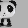 Descargar STL Lámpara Panda light, MAyobe