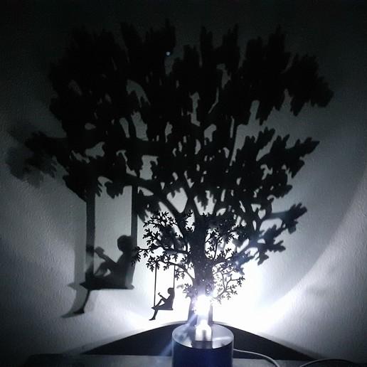 20200206_184335.jpg Download STL file Shadow Lamp • 3D print model, MAyobe