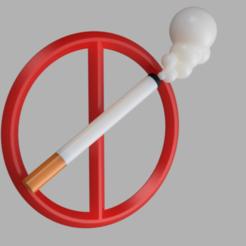 Download free 3MF file No smoking sign • 3D printer design, MAyobe