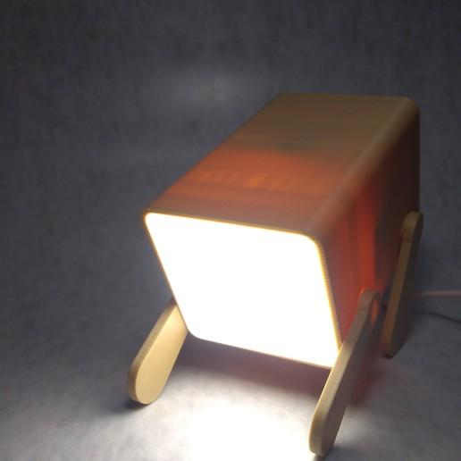Télécharger modèle 3D Lampe d'éclairage pour chien, MAyobe