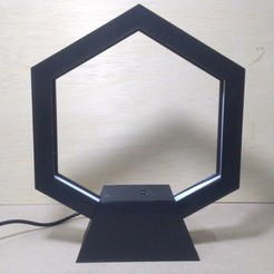 IMG_20200914_031438.jpg Download free STL file Honeycomb led lamp with Arduino & IR Proximity sensor • Design to 3D print, MAyobe