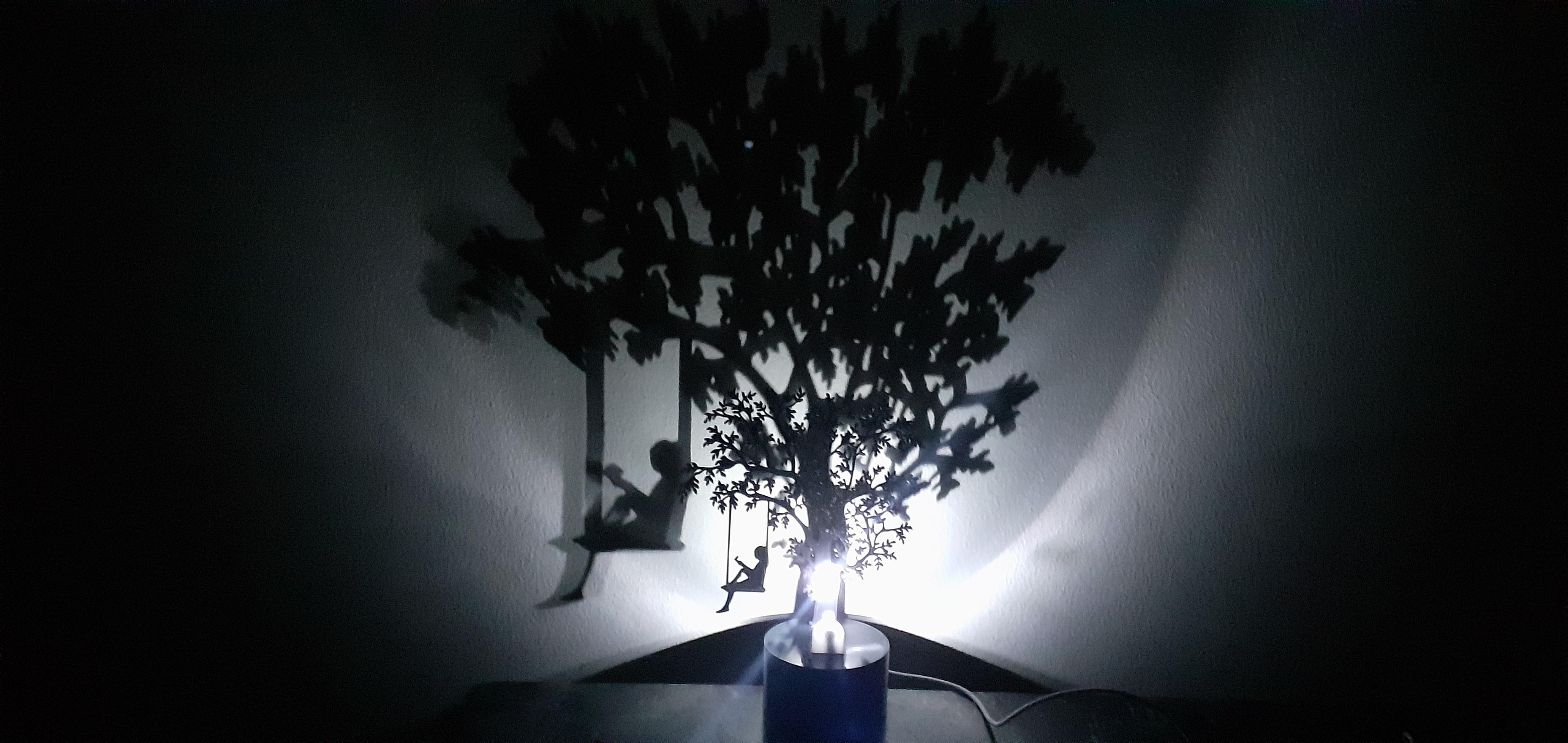 20200206_184337.jpg Download STL file Shadow Lamp • 3D print model, MAyobe