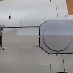 Download STL Taft Hobby Viper Jet main landing gear doors spare parts, RuckyPlex