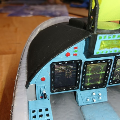 Freewing Yak 130 Cockpit 3DPUP
