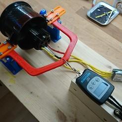 Télécharger STL Banc d'essai EDF (Prüfstand) 90, RuckyPlex