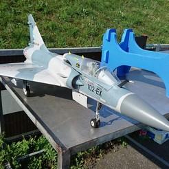 Imprimir en 3D Freewing Mirage 2000 3DPUP, RuckyPlex