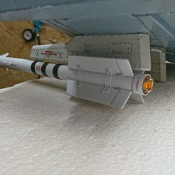 3D printer models AA-11 Archer 1/10, RuckyPlex