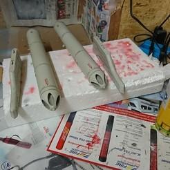 3D printer files  Freewing Yak 130 90mm B-13L Rocket Launcher, RuckyPlex