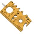MultiToolISO.png Download free STL file Multi Tool • Design to 3D print, lucadilorenzo98