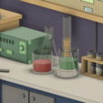 RickAndMortyGarage4.png Download free STL file Rick and Morty Garage • 3D printable object, lucadilorenzo98