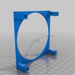 Download free 3D printing models Anet A8 Fan Holder, lucadilorenzo98