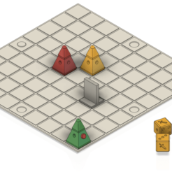 Download free 3D printing models Simple Board Game, lucadilorenzo98