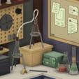 RickAndMortyGarage3.png Download free STL file Rick and Morty Garage • 3D printable object, lucadilorenzo98