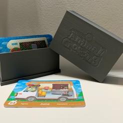 IMG_4081.jpg Télécharger fichier STL Boîte à cartes Amiibo Animal Crossing • Plan à imprimer en 3D, benwag