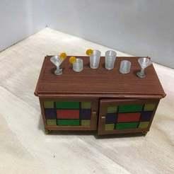 IMG_0357.jpg Télécharger fichier STL gratuit Ensemble de verres de bar n°1 (échelle 1:18) • Plan pour impression 3D, zanzas_toys