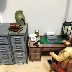IMG_0491.jpg Télécharger fichier STL gratuit Machine à écrire (échelle 1:18) • Design à imprimer en 3D, zanzas_toys
