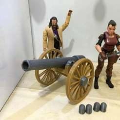 IMG_0473.jpg Télécharger fichier STL gratuit Canon de la guerre civile (échelle 1:18) • Plan pour imprimante 3D, zanzas_toys