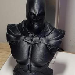 Free STL files Another Batman Bust (HD) Arkham, Ratatong