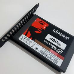 20191122_210532.jpg Download STL file Pci Support Adapter for SSD • 3D printable model, MVD3D