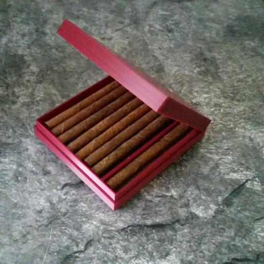 Descargar STL gratis Caja Zigaretten Schachtel, 3ddrucktom
