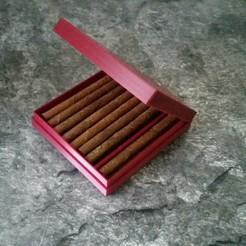 Télécharger fichier STL gratuit Boîte Zigaretten Schachtel • Design à imprimer en 3D, 3ddrucktom