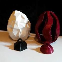 Download free 3D printer model Hangers for Antonin_Nosek´s wonderful easter eggs, 3ddrucktom