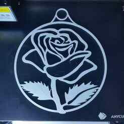 20210107_193948.jpg Télécharger fichier STL gratuit décoration des fenêtres Fensterdeko Rose 🌹 Valentinstag ❤ • Plan pour imprimante 3D, 3ddrucktom