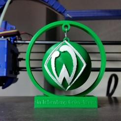 Download free 3D printer model SV Werder Bremen.dekokugel, 3ddrucktom