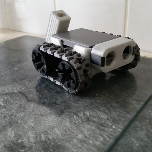 Download free 3D printing models SMARS cover / Deckel, 3ddrucktom