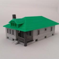 Download free 3D printer files HO Scale The Hamilton, 3ddrucktom