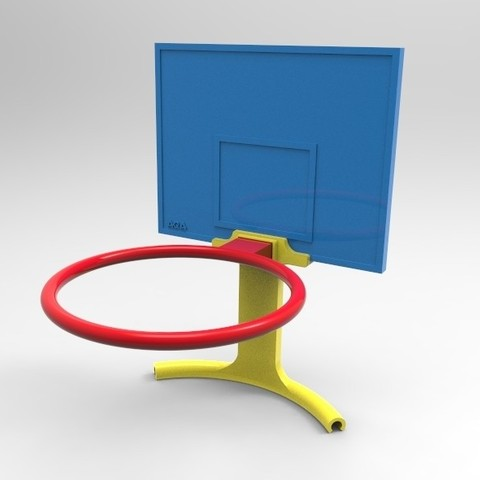 untitled.49.jpg Download free STL file Basket for litter bin • 3D printable object, AQA