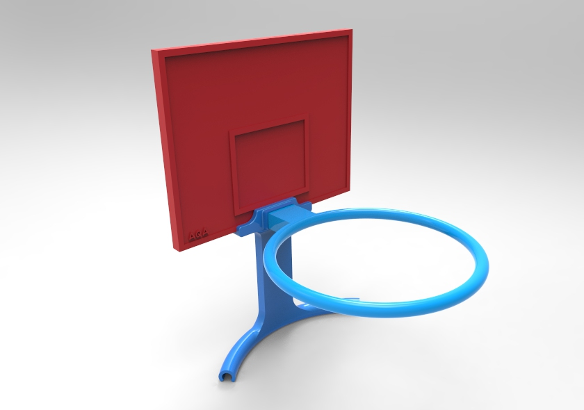 untitled.48.jpg Download free STL file Basket for litter bin • 3D printable object, AQA
