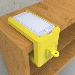 Download free 3D printer files iPhone Charging Station, AQA