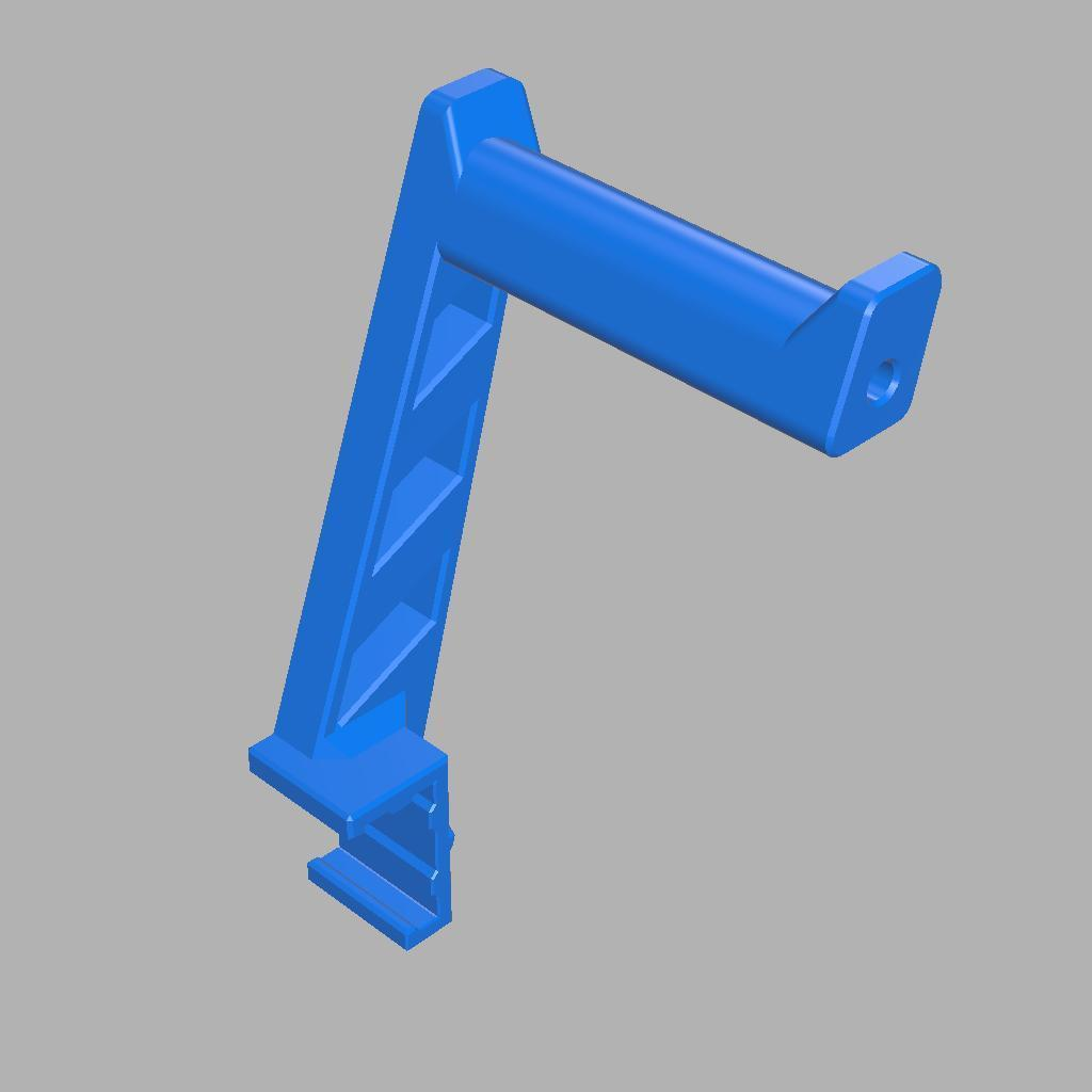 Spool_Holder_v6.jpg Download free STL file Spool Holder for 2040 profile • 3D printing object, JBertotto