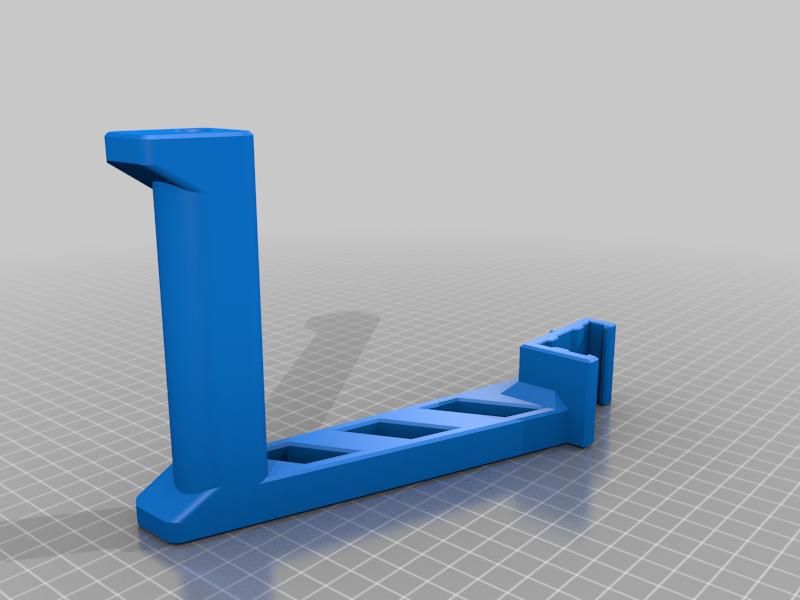 SpoolHolder_Bear.png Download free STL file Spool Holder for 2040 profile • 3D printing object, JBertotto