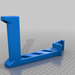 SpoolHolder_Bear.png Download free STL file Spool Holder for 2040 profile • 3D printing object, JBertotto