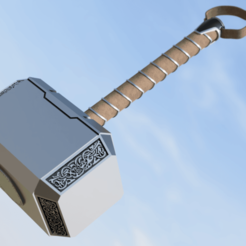 Main_2020-May-25_05-55-00PM-000_CustomizedView18456085130.png Download free STL file Mjolnir from Avengers:Endgame • 3D print design, JBertotto