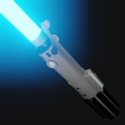 1.png Download STL file Luke's Lightsaber as seen on Star Wars: A New Hope  • Model to 3D print, JBertotto